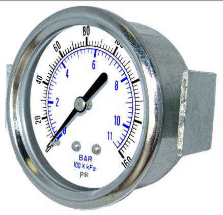Item 103d 354cb Panel Mount Dry Utility Vacuum Gauge On