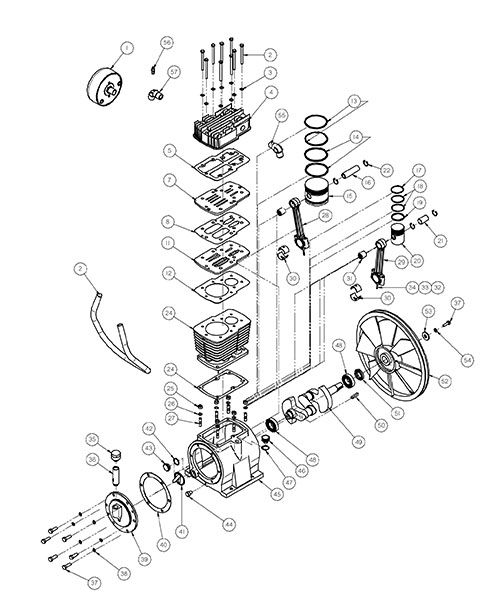 Wiring Diagram Sanborn Air Compressor