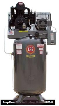 Item B71v84 E Cas 7 5hp Reciprocating Compressor Elite