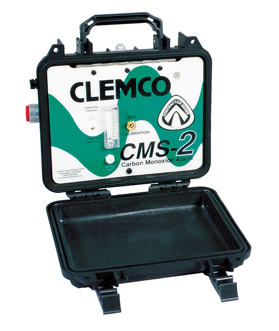 Cms 2 Portable Carbon Monoxide Monitor On Compressed Air