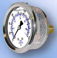 202L Liquid Filled Gauge
