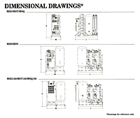 Dimensional Drawings