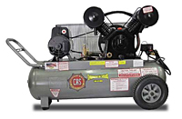 CAS Contractor Series Electric Reciprocating Compressor 5hp 20 Gallon Tank