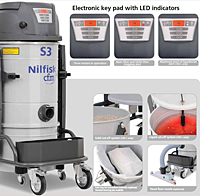 Industrial Vacuums Features (S Series)