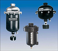Kaeser Mechanically Actuated Drain Traps