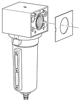 Wilkerson Modular Replacement Body Cover C-Bracket