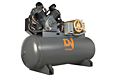 Heavy Duty Pressure Lubricated Industrial Compressors