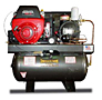 CAS Gas 18hp Honda Rotary Screw Air Compressor