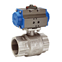 Pneumatically Actuated Ball Valve