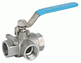 Stainless Steel 3-Way Diversion Ball Valve