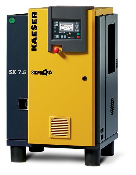 Item Sx 7 5 Rotary Screw Air Compressor On Compressed