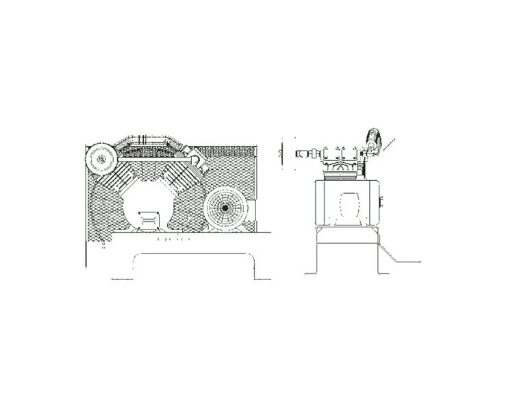 Item B5mtoii Matrix Chbmoa Base Mounted Air Compressor