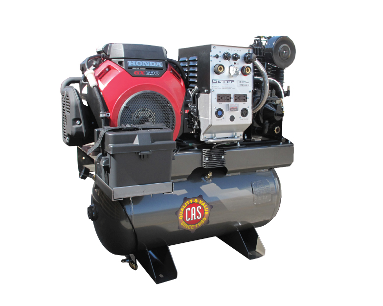 23 Cfm Basic Air Compressors With 6000 W Generator 300 A