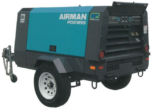 Item Pds400s 6b1 Airman Pds400s Portable Air Compressor