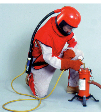 Item 08922 Blast Suit L On Compressed Air Systems Inc