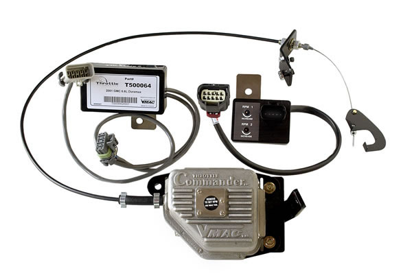 Throttle Commander On Compressed Air Systems Inc