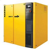 CSD Series Direct Drive Kaeser Rotary Screw Compressor 60HP - 125HP, 188CFM - 588CFM