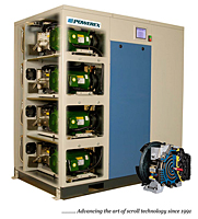 Oilless Scroll Air Compressors with Enclosure - 5