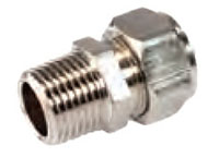 Stainless Steel Male National Pipe Thread (NPT) Fittings