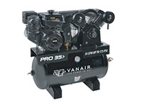 Vanair® PRO Series 175 Pound per Square Inch (psi) Portable Reciprocating Air Compressor - 30 Gallon Configuration