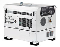 Viper™ Rotary Screw Gas Compressors with Generator