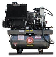CAS Gas and Diesel 30hp Rotary Screw Air Compressor