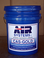 CAS Gold Lubricant (5gal)