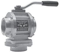 Two-Way Aluminum Ball Valve