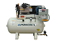 Simplex and Duplex Tank-Mounted Oilless Scroll Air Compressors