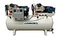 3 to 10 hp Power Duplex Tank-Mounted Oilless Scroll Air Compressor