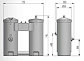 JORC Puro Oil / Water Separator Diagram